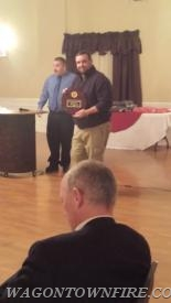 Firefighter of the Year Firefighter John Yearsley