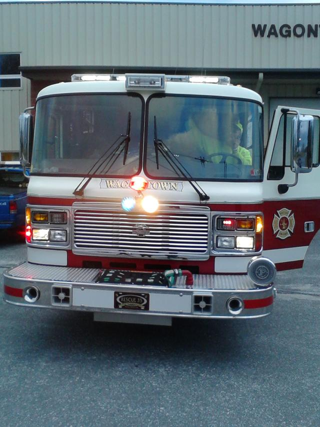 Led Upgrade To Apparatus Wagontown Fire Company