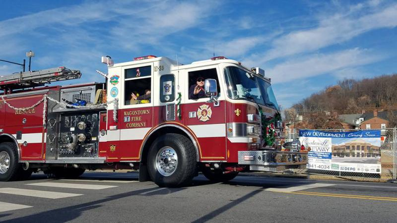 Annual Coatesville Christmas Parade - Wagontown Fire Company
