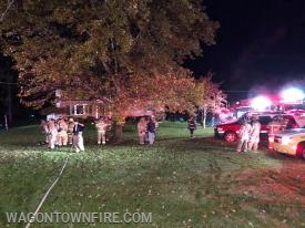 Icedale Rd house fire